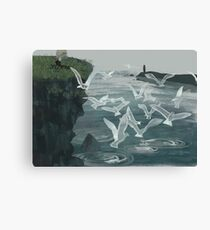 Witch of Pitteweem Canvas Print
