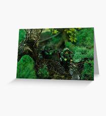 Lego jungle bis Greeting Card
