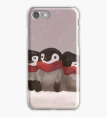Three little penguins iPhone Case/Skin