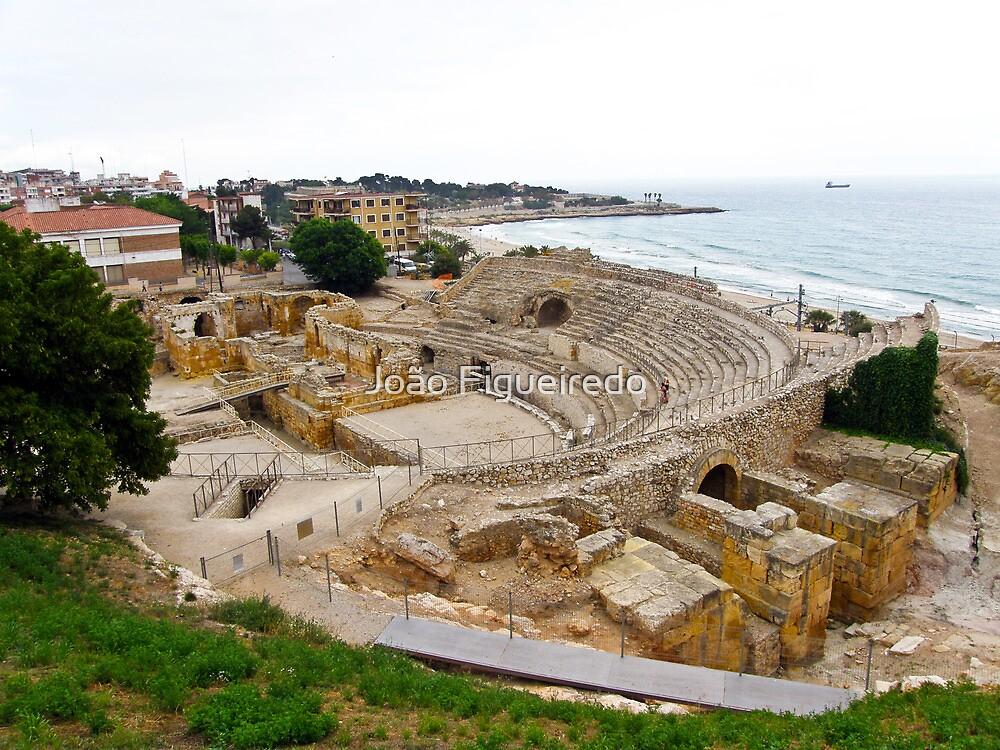 Tarragona's amphitheatre by João Figueiredo