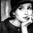 Angelina Jolie by Lubna