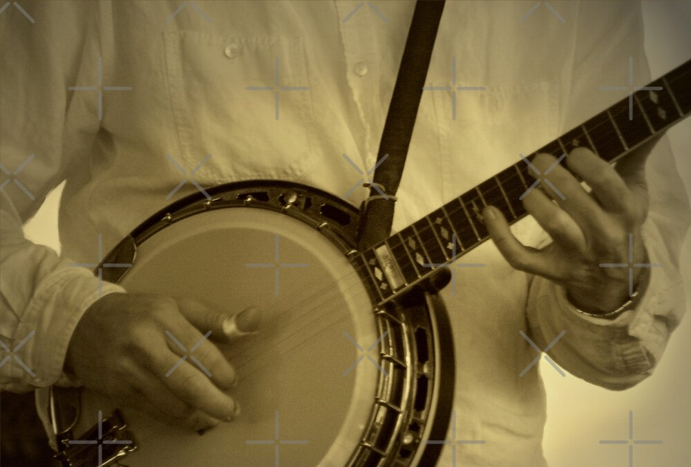 Strummin' On The Old Banjo by Julie's Camera Creations <><