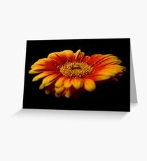 Floral Flames Greeting Card