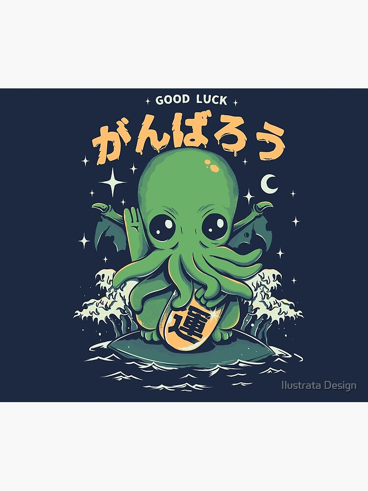 Good Luck Cthulhu by ilustrata