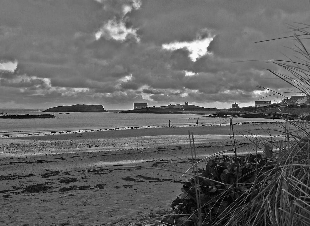 Rhoscolyn Beach in Winter by Adam Costello