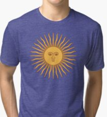 Funny Awesome Sun Tri-blend T-Shirt