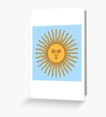 Funny Awesome Sun Greeting Card