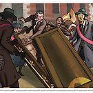 «La procesión fúnebre por Caleb Cleveland» de Chaosium