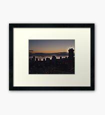 Vancouver Evening Framed Print