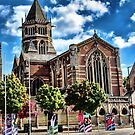 Rugby school chapel by Avril Harris