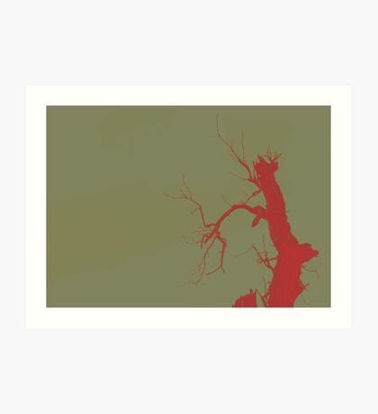 02-21-2011 Tree of Blood Art Print