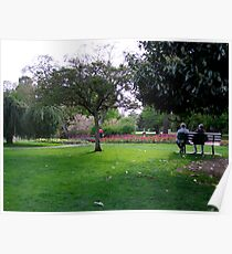 Afternoon In The Park Poster