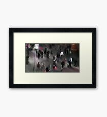Broadway at night Framed Print