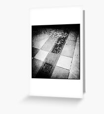 Storm Drain Greeting Card
