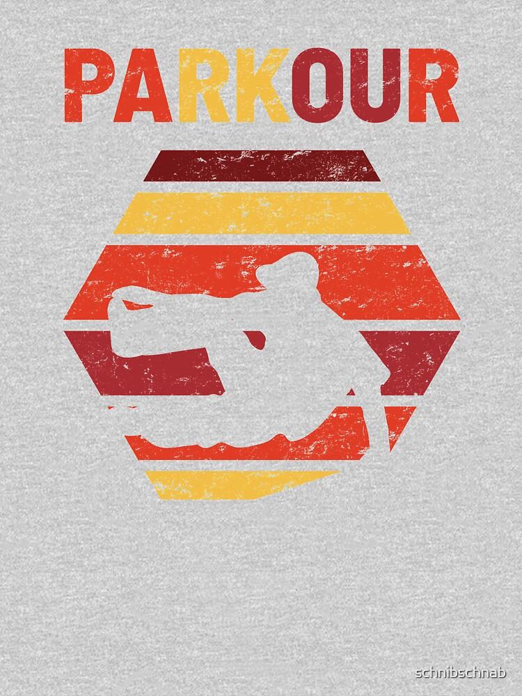 Parkour Free Running Retro by schnibschnab
