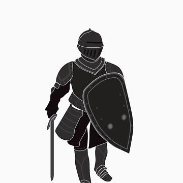 Medieval Knight (Black) by satorenalin