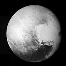 Pluto by New Horizons by flashman