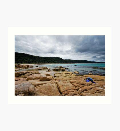 Honeymoon Bay - Croajingolong National Park Art Print