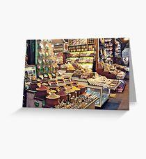 Spice Bazaar, Istanbul Greeting Card
