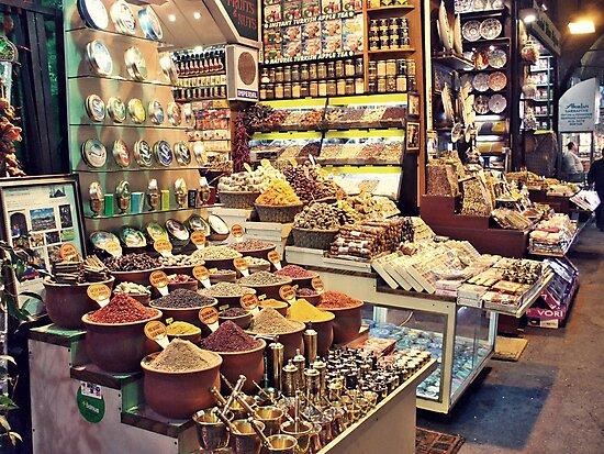 Spice Bazaar, Istanbul by rasim1