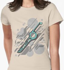 Monado Abstract (Grey) Womens Fitted T-Shirt