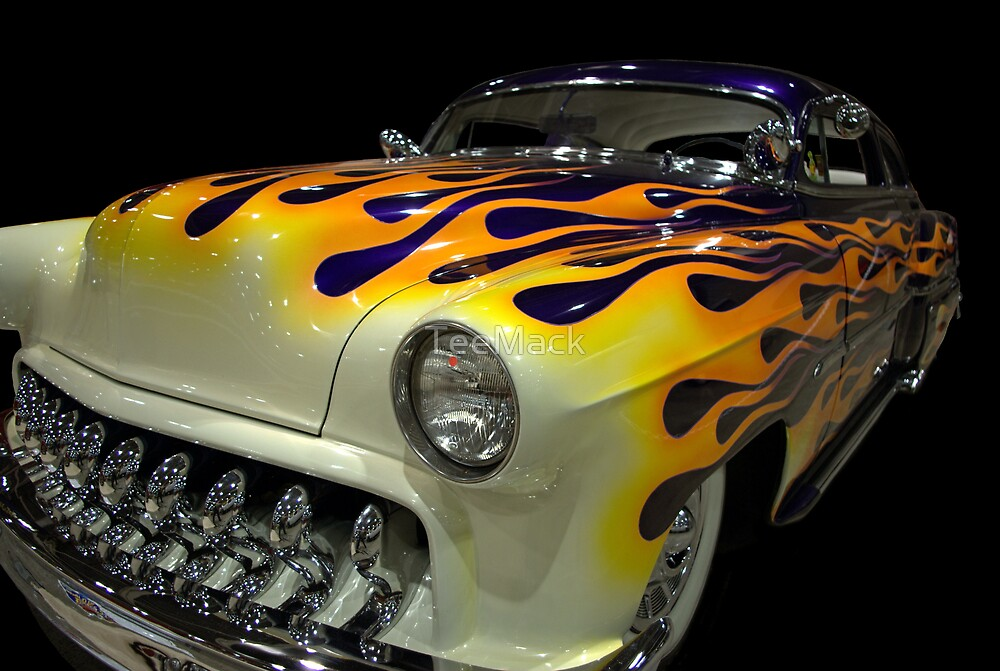 1954 Chevrolet Custom 210 with Flames by TeeMack