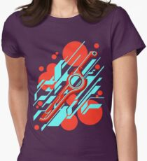 Monado Abstract Womens Fitted T-Shirt