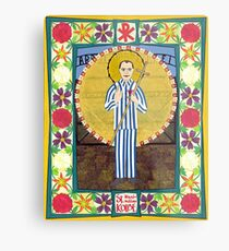 Icon of St. Maximilian Kolbe Metal Print