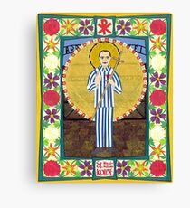 Icon of St. Maximilian Kolbe Canvas Print