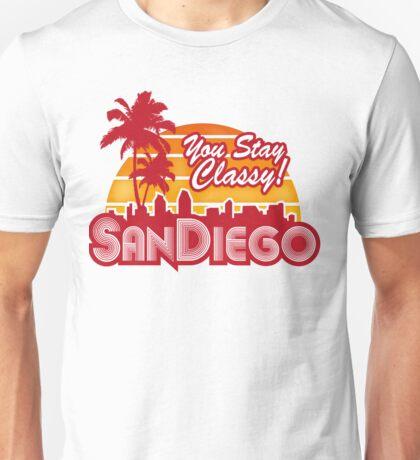You Stay Classy! San Diego Unisex T-Shirt