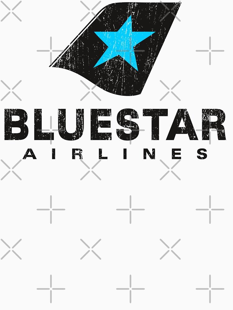 BlueStar Airlines (worn look) by KRDesign