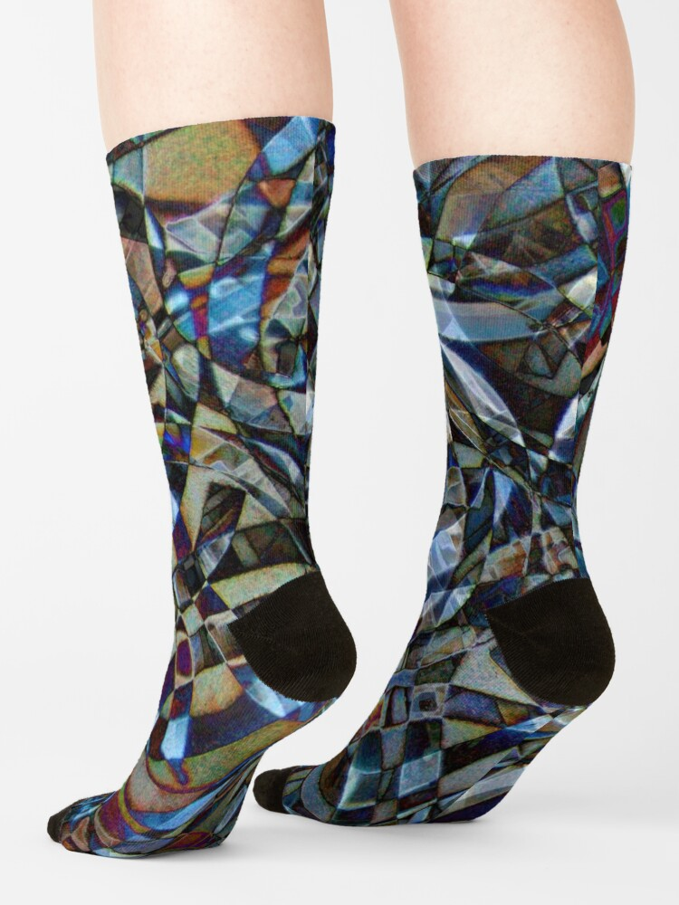 Alternate view of Kaleidoscope #18 Socks