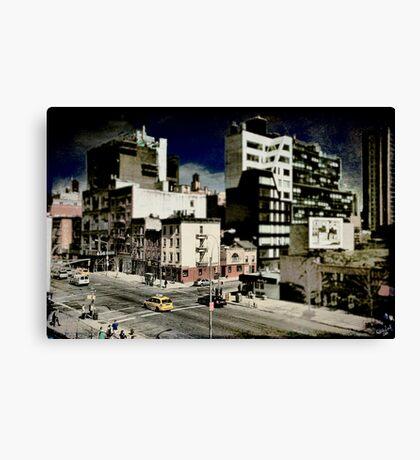 18th & 10th, a NYC Cityscape Canvas Print