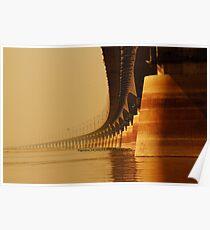 Jamuna Multipurpose Bridge , BANGLADESH Poster
