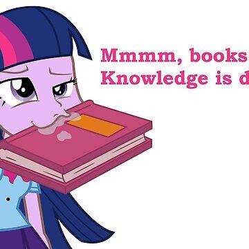 Twilight Sparkle Mmmm Books by imnigel