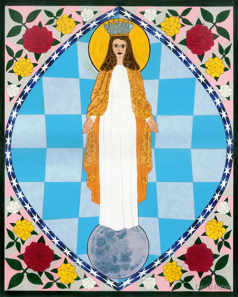 Icon of the Immaculate Conception by David Raber