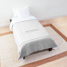 relatable teen Comforter