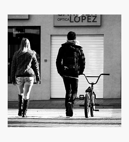 Excercise Bike.. Photographic Print