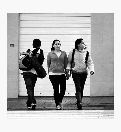 Collision Course Photographic Print