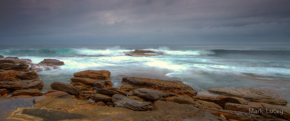 Stormy Water by Mark  Lucey