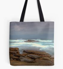 Stormy Water Tote Bag