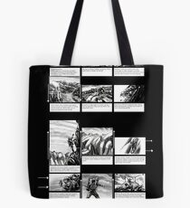 Mountain Odyssey (storyboard) Tote Bag