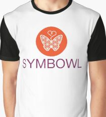 The SymBowl Butterfly  Graphic T-Shirt