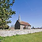 The Parish Church at Greatham, West Sussex by dgbimages