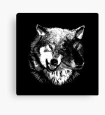 Two Headed Wolf Canvas Print