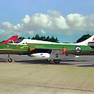 Hawker Hunter T.12 XF531 - the rare green one by Colin Smedley