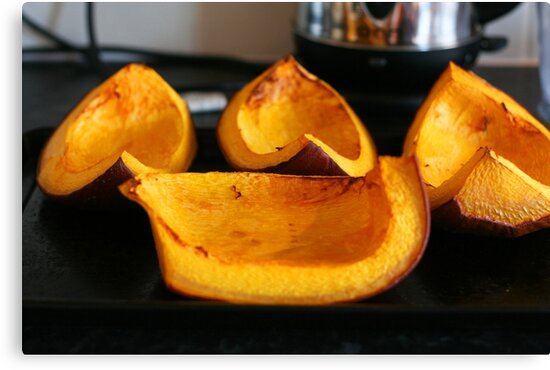 Roasted Pumpkins by MagzParmenter