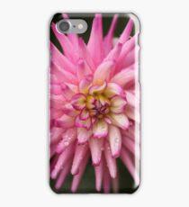 Flowers in the rain iPhone Case/Skin