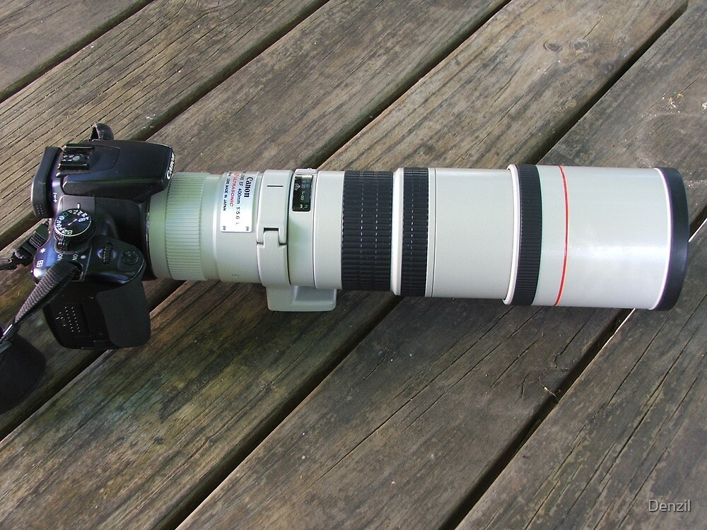 Great Big New Lens by Denzil