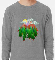 Abstract Landscape Lightweight Sweatshirt